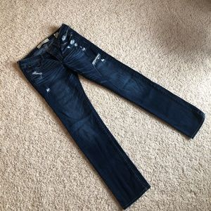 Distressed Abercrombie jeans. Size 4.